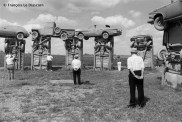 "Ref Only in America 29 – ""Carhenge"", sculpture de Jim Reinders inspirée par Stonehenge, Alliance, Nebraska"