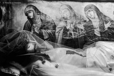 Ref CHRISTUS 10 – Christ avec trois Maries, église de Beja, Portugal