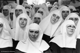 Ref CHRISTUS 17 – Groupe de soeurs religieuses, Séville, Espagne