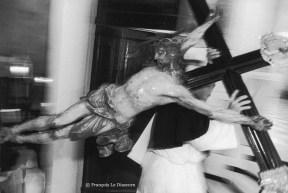 Ref CHRISTUS 19 – Procession du Vendredi Saint à Bonifacio, Corse