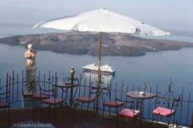 REF GRECE BLEUE 18 – Statue de la Vénus de Milo, île de Santorin