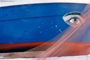REF GRECE BLEUE 2 – Oeil peint sur un bateau, Île de Poros