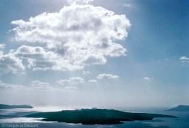 REF GRECE BLEUE 8 – Vue de Santorin