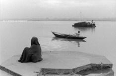 Ref Inde 7 – Barques sur le Gange, Bénarès