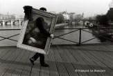 Ref Paris 11 – La Joconde sur le Pont des arts