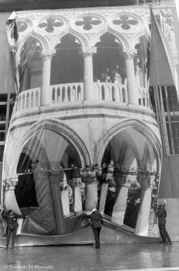 Ref VENISE 23 – Toile représentant le Palais des Doges sur le Palais des Doges