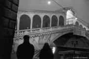 Ref VENISE 8 – Pont du Rialto par une nuit de pleine lune