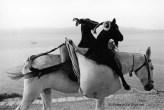 Ref Grèce 8 – Deux chèvres sur un âne, île d'Hydra