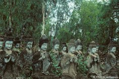 Ref BOUDDHA 18 – Bouddhas dans un bois, Jardin de Sala Kaew Ku, Nong Khai, Thaïlande