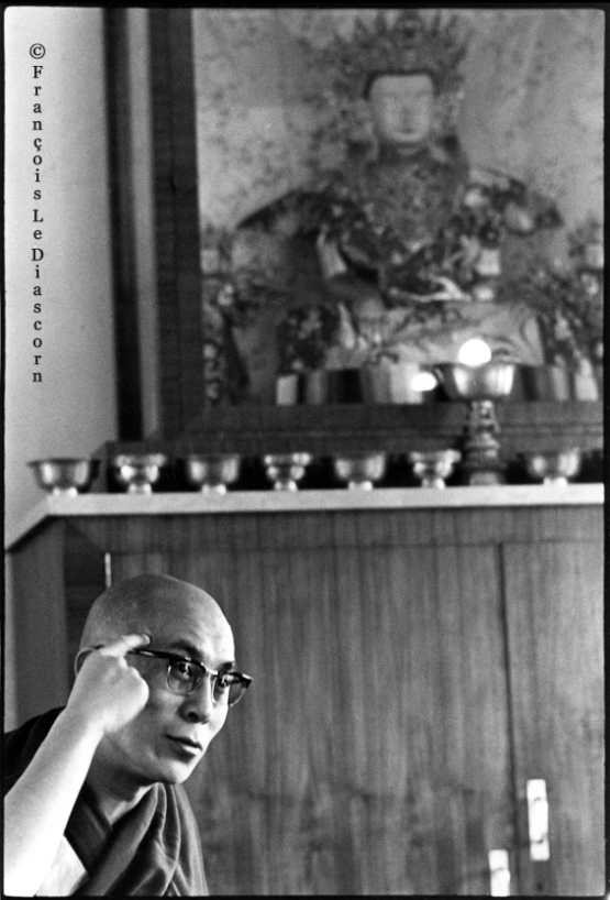 Dalaï Lama - McLeod Gang © François Le Diascorn