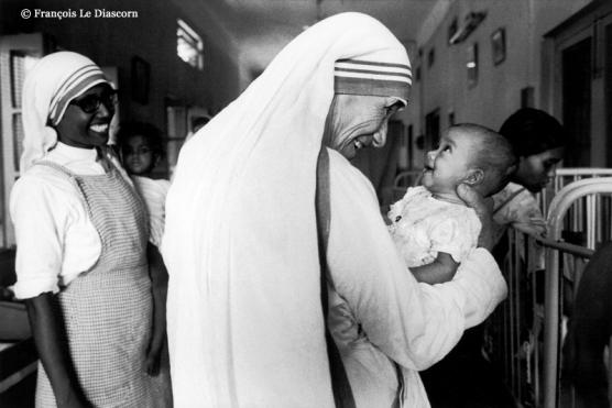 Mère Teresa - Calcutta © François Le Diascorn