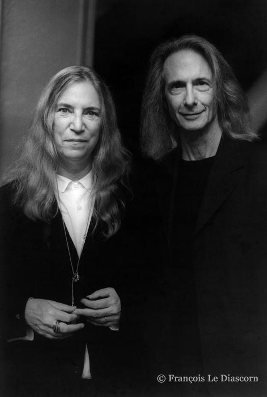 Patti Smith et Lenny Kaye ©François Le Diasorn_francoislediascorn.com